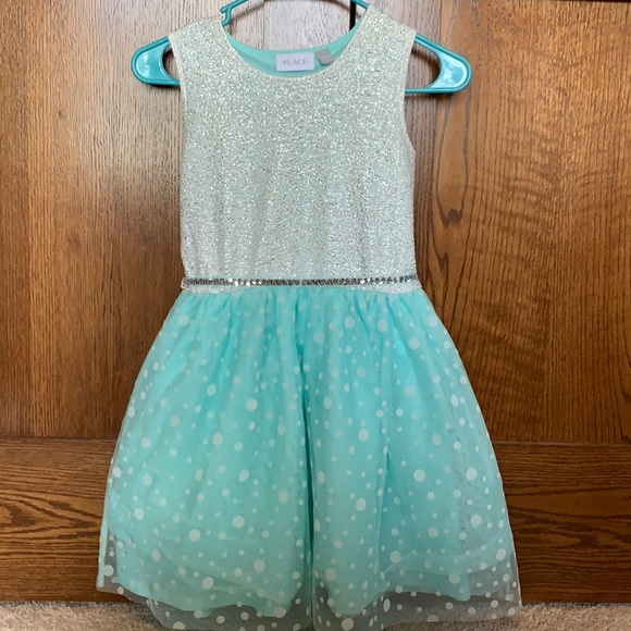 The Children's Place Girls Holiday dress Large 12